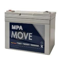 AGM Blei Akku 12V / 34 Ah, Move - Artikel: MPA 34-12