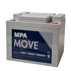 AGM Blei Akku 12V / 50 Ah, Move - Artikel: MPA 50-12