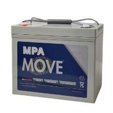 AGM Blei Akku 12V / 85 Ah, Move - Artikel: MPA 85-12