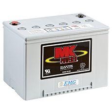 Blei Gel Akku 12V / 60Ah - MK Battery - Artikel: M34SLDG