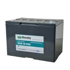 Blei Gel Long Cycle Life Akku 12V / 60 Ah, Eternity Technologies, G06 12 052