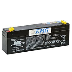 AGM Blei Akku 12V / 2,3Ah, MK Battery, Artikel: ES 2.3-12