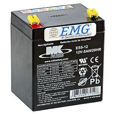 AGM Blei Akku 12V / 5Ah , MK Battery, Artikel: ES 5-12