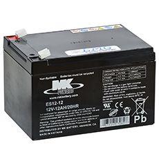AGM Blei Akku 12V / 12 Ah, MK Battery, ES 12-12