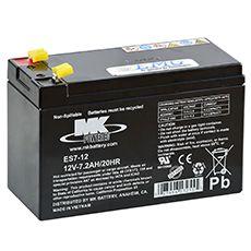 AGM Blei Akku 12V / 7Ah, MK Battery, Artikel: ES 7-12